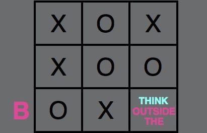 Não pense fora da Caixa