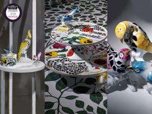 """A premiada gama""""Primavera"""", em parceria Christian Lacroix, onde ressalta o refinado trabalho de pintura manual"""