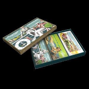 A recuperação do património estético da Marca é o mote para estas caixas de oferta, destinadas também ao público turista.