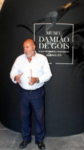 Dr. Luís Figueiredo, Diretor do Museu Damião de Góis